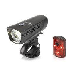 XLC Comp CL-S14 Beleuchtungsset Francisco/Pan schwarz